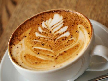 Латте арт. Узоры на кофе.